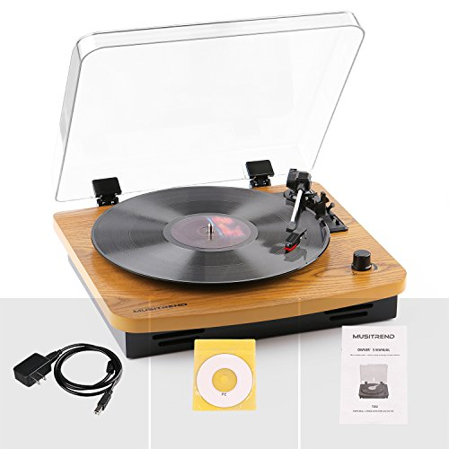 Review Musitrend LP 3-Speed Turntable