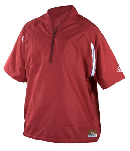 Louisville Slugger Adult Slugger Batting Cage Pull-Over with 1/4 Zip