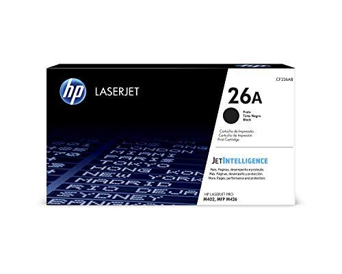 (HP 26A (CF226A) Black Toner Cartridge for HP LaserJet Pro M402 M426)