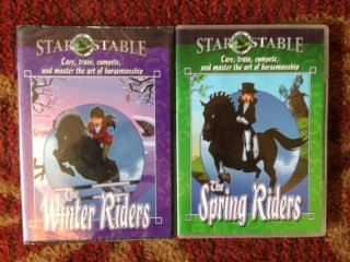 Star Stable SET (of 2 DVDs):