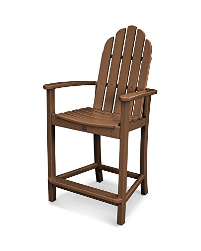 Trex Outdoor Furniture Cape Cod Adirondack Counter Chair in Tree House