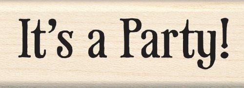 Inkadinkado It's a Party Wood Stamp