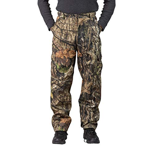 - TrailCrest Men's Camo Hunting Cargo Pants | 6 Pockets | Mossy Oak Break-Up Country