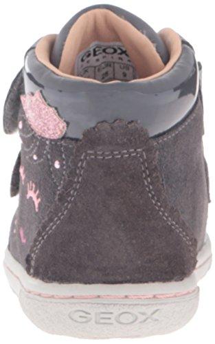 Geox B Flick Girl C, Botines de Senderismo para Bebés Gris (DK Grey C9002)