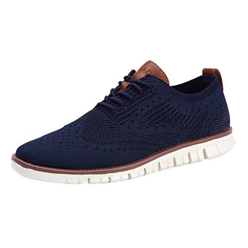 Royallove  Men's Freestep Shoe Sneaker Slip-On Mesh Lightweight Breathable Athletic Running Walking Gym Shoes