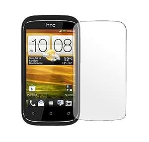 Kit Me Out ES ® Protector de pantalla + gamuza de microfibra para HTC Desire 320