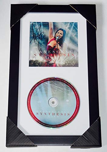 Amy Lee Autographed Evanescence Live Cd Cover (framed & Matted) - W/ Coa!
