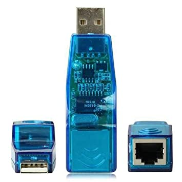 USB LAN Adapter Konverter RJ45 Ethernet Netzwerk 10: Amazon.de ...