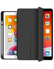 Capa iPad 9.7 2017/2018 / 2019 Wb Antichoque Preta Com Compart. P/Apple Pencil - A1822 / A1823 / A1893 / A1954 / A1673 / A1674 / A1675