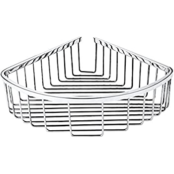 Hane hanebath stainless steel single tier - Bathroom corner caddy stainless steel ...