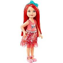Barbie Dreamtopia Rainbow Cove Sprite Doll - Red