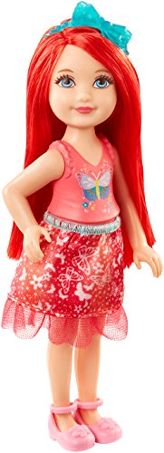 Barbie Dreamtopia Rainbow Cove Sprite Doll - Red