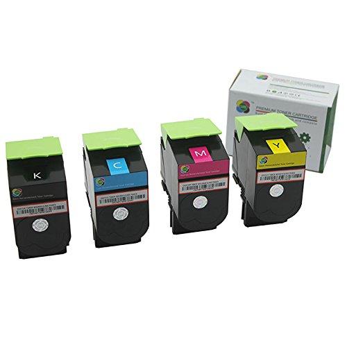 4pk Caire ( TM )リサイクル品Lexmark cs310dn、cs310 N、cs410dn、cs410dtn、cs410 N、cs510de、cs510dteセット[ cs310 : Myck ] B01569Y9EC