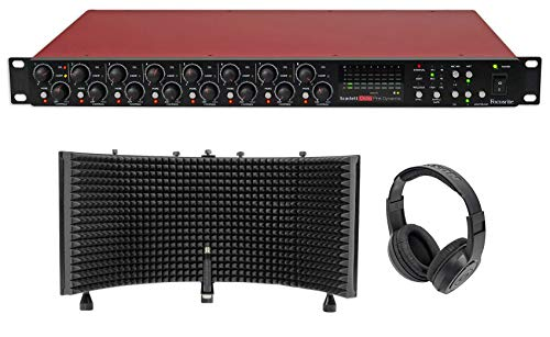 (Focusrite Scarlett OctoPre Dynamic Microphone Preamp+Isolation)