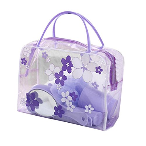 Jarsh Portable Travel Cosmetic Bag Wash Makeup Organizer Storage Toiletry Bag