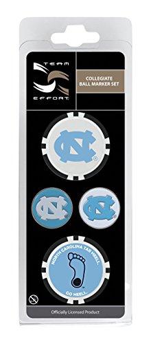 Team Effort North Carolina Tar Heels Ball Marker Set