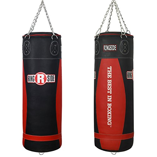 Ringside Large Leather Boxing Punching Heavy Bag