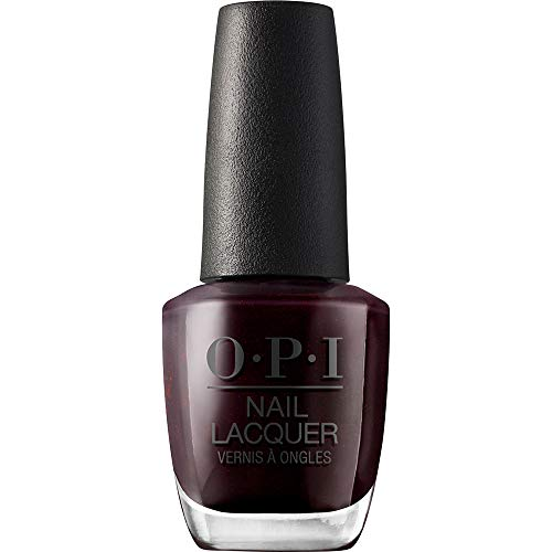 OPI Nail Lacquer, Midnight in Moscow - Maroon Chip