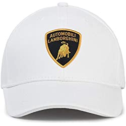 Automobili Lamborghini Official Cap One Size White
