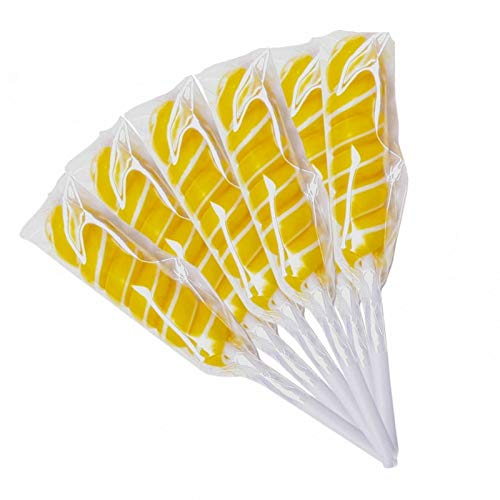 Yellow Banana Swirl Pops 25 Count Box ()
