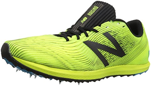 New Balance Men's 7v1 Cross Country Running Shoe, Yellow/Black, 12 D US