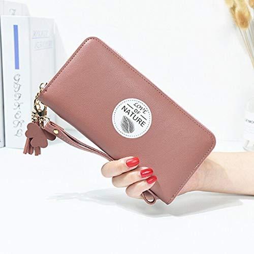Portafogli Long Wallets B Jjhr Capacity Bags Ladies Clutch Female Tassel Wallet Purses Portamonete Pendant Zipper Women High Borsello Girls c gxdzYHq