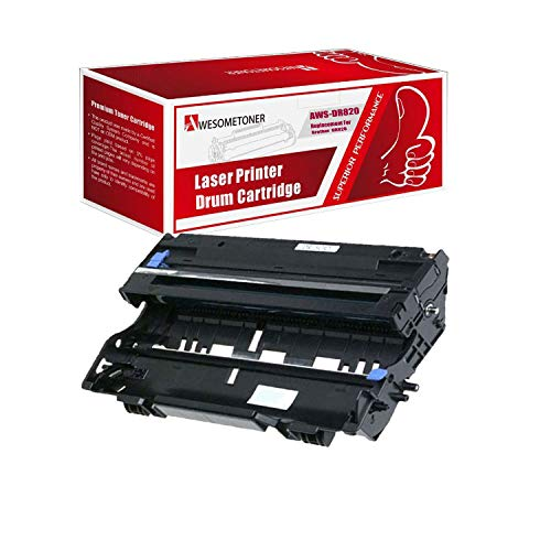 Awesometoner Compatible 1 Pack DR820 Drum Unit for Brother DCP-L5500DN DCP-L5600DN DCP-L5650DN HL-L5000D High Yield 30,000 Pages