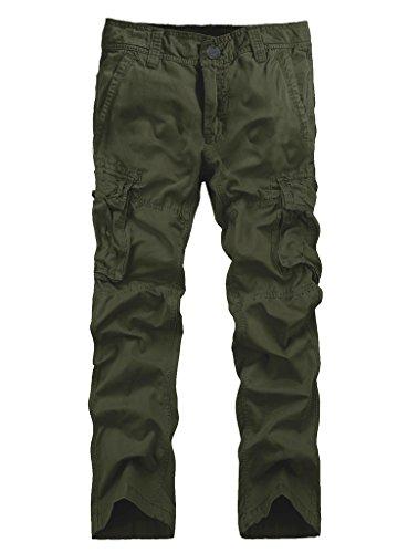 Pockets Mens Casual Pants - 5