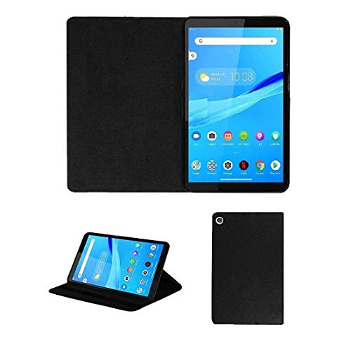 Caseous Synthetic Leather Stand Flip Case Cover for Lenovo TAB M8 (TB-8505X) (2019) – Black