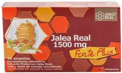 Oferta amazon: ARKOREAL JALEA REAL FRESCA FORTE PLUS 1500 1500 MG 2O AMP