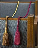"Weighted Pew Ropes Rayon and Cotton 48"" L with 5"" tassels Pack of 4"