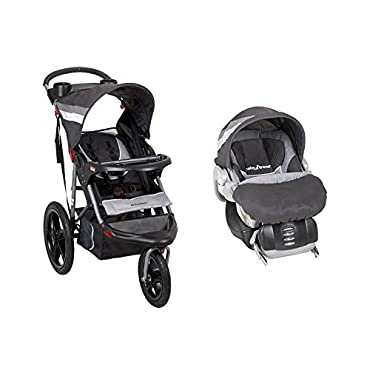 Baby Trend Range Jogging Stroller and Infant Car Seat Travel System, Liberty