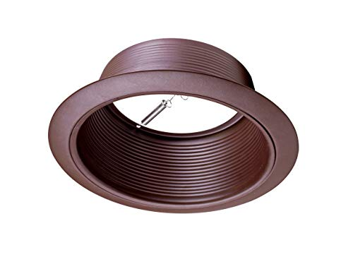Bronze Baffle - NICOR Lighting 6-Inch Baffle Lighting Trim, Oil-Rubbed Bronze (17510OB-OB)