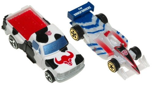 Transformers Robots in Disguise Ironhide and Mirage 2 Pack Mini Action Figure Set
