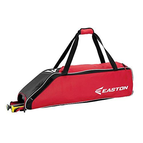 Easton E310W Wheeled Bag Baseball Bag, Red, 36