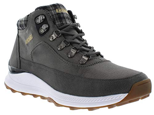Khombu Men's ROM Hiking Boots, Grey, 11 M US