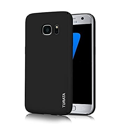 S7 Case, Galaxy S7 Case - TURATA Slim fit [Full Edge Protection Camera Protection] Premium Coated Non Slip Surface Four Layer Paint Designed Case for Samsung Galaxy S7