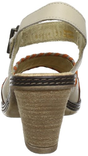 Romika Nizza 11 81111 - Sandalias de cuero para mujer Beige