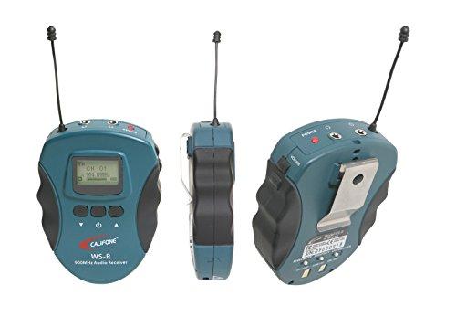 Califone WS-R Lightweight 16-Channel Wireless Audio System R