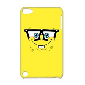 Personalized Custom Cartoon Spongebob Squarepants Protective Snap-on 3D Case Cover for IPod Touch 5