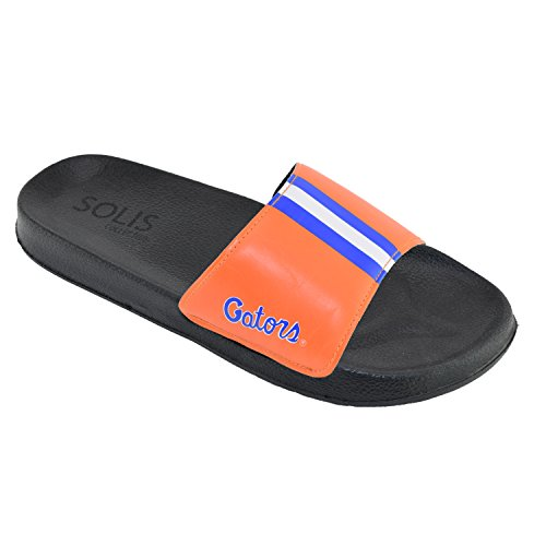 Florida Gators Herren Team Helm Sandalen Rutschen Orange, blaue  Florida-Alligatoren