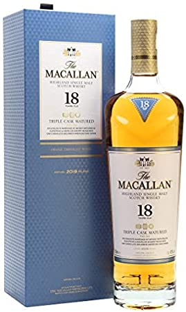 Macallan - Triple Cask Matured 18 year old Whisky- 2019 Release 1x70Cl 43%