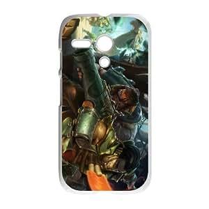 Motorola G Cell Phone Case White League of Legends Cutpurse Twisted Fate TJ2750377