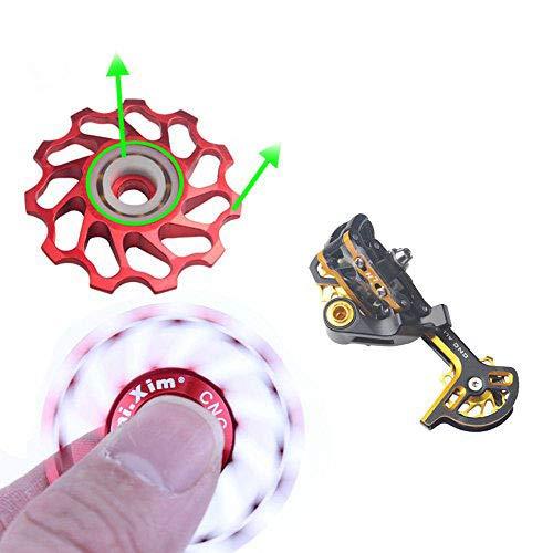 MIXIM Bike Ceramic Pulley Bicycle Jockey Wheel Ceramic Bearing Pull Rear Derailleur Shimano / Sram / Campagnolo