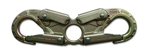 ProClimb USR-16-CDL Double Action Steel Spreader Snap Hook, 245 mm x 73 mm by ProClimb (Image #1)