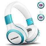 Bluetooth Headphones, ELEGIANT On Ear Bluetooth Headset Foldable with Mic FM Radio Micro