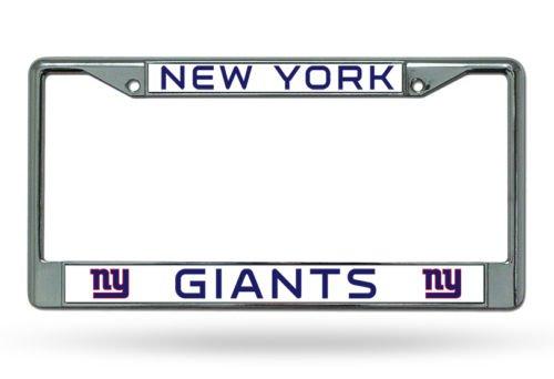 New York Giants NFL Chrome License Plate Frame ()