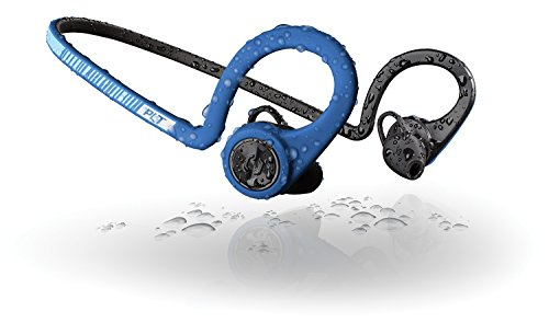 Plantronics BackBeat FIT Boost Edition Sport Earbuds, Waterproof Wireless Headphones with Charging Pouch, Access to Interactive Audio Coaching from the PEAR Personal Coach App, Power Blue by Plantronics (Image #2)