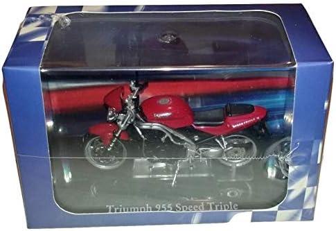 Ex Mag Triumph 955 Speed Triple Diecast Model Motorcycle