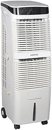 Jocel JCA002112 Climatizador de Aire, 180 W, Plástico, 3 Velocidades, Blanco[Clase de eficiencia energética A+]